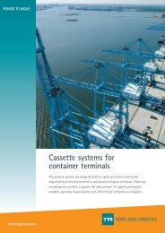 Cassettesystems for ContainerTerminals.pdf - TTS Group ASA