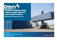 Container shipping market outlook, freight rates ... - Trade Extensions