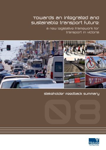 Transport Legislation Review: Stakeholder feedback summary