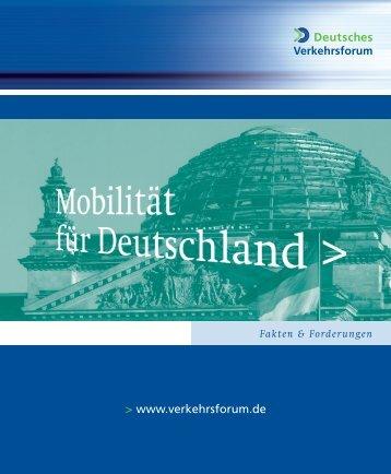 Zum Download als PDF - Deutsches Verkehrsforum