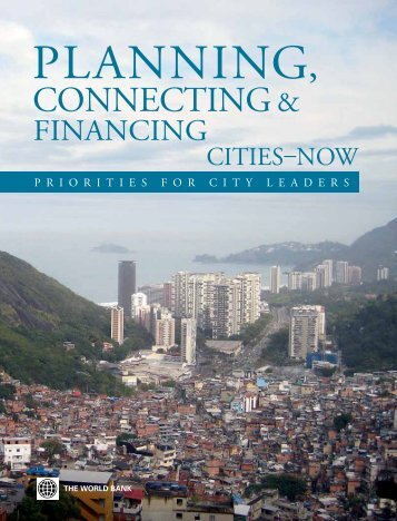 Planning, Connecting, and Financing - Urbanization Knowledge ...