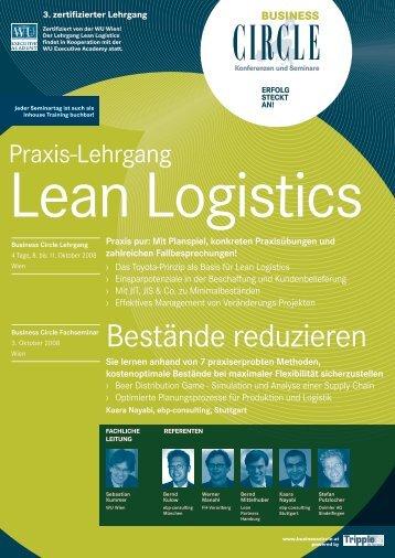 Lean Logistics - Verkehrsakademie