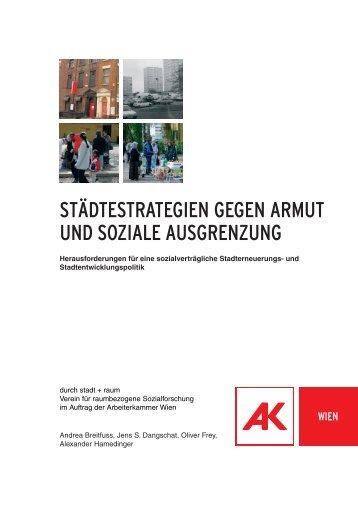 städtestrategien gegen armut und soziale ausgrenzung