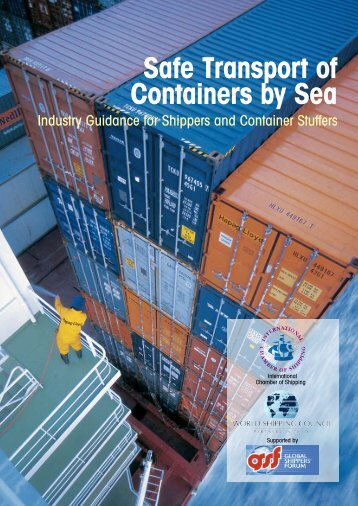 Safe Transport of Containers by Sea - World Shipping Council