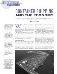 CONTAINER SHIPPING - World Shipping Council