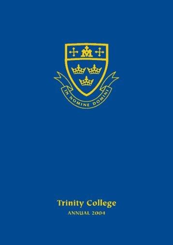 trinity 2004 - Trinity College