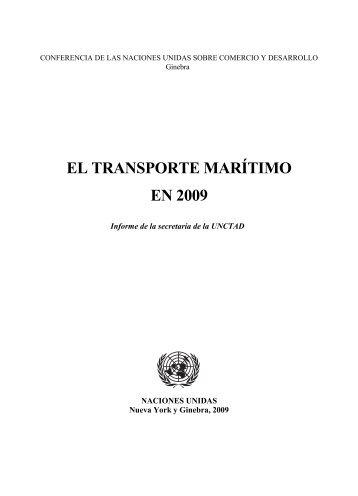 EL TRANSPORTE MARÍTIMO EN 2009 - Unctad