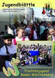 Ausgabe 1/2009 - Trachtenjugend Baden-Württemberg