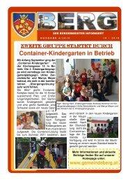Zur Gemeindeinfo - Gemeinde Berg