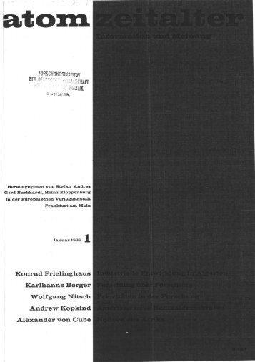 , Konrad Frielinghaus Karlhanns Berger. Wolfgang Nitsch Andrew ...