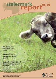 Steiermark Report Juni 2010 - doppelseitige Ansicht (für größere