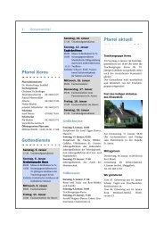 Pfarreiblatt 01-2013 Kerns - Kirche Kerns
