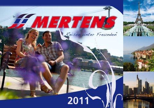 2011 - Mertens Reisen