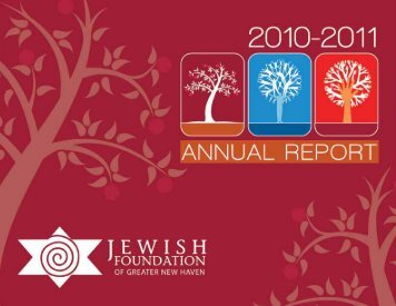 Annual Report FYE 7-31-11.pdf - Jewish Foundation of Greater New ...