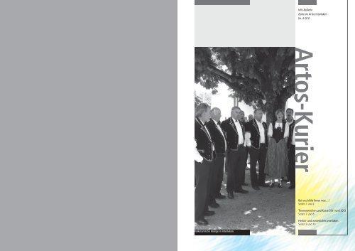 Artos Kurier Nr. 4-2011 (pdf) - Artos Interlaken