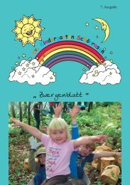 7. Ausgabe - Evangelische Kindertagesstätte Schönrasen