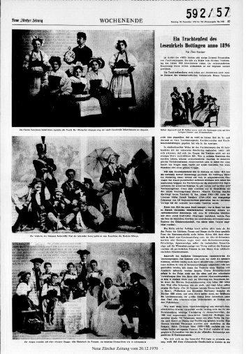 WOCHENENDE - Neue Zürcher Zeitung
