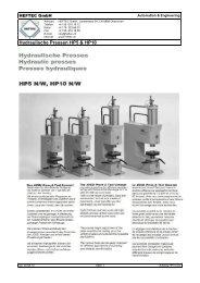 PROSPEKT PDF-DOWNLOAD - HEFTEC GmbH