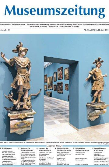 Ausgabe 33: 16. März 2010 - Museumszeitung für Museen in und ...