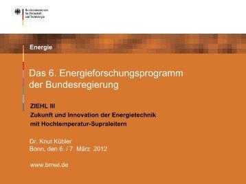 ZIEHL-2012-BMWi-Dr-Knut-Kuebler-6-Energieforschungsprogramm