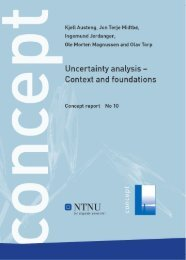 Uncertainty analysis - Context and foundations - Concept - NTNU