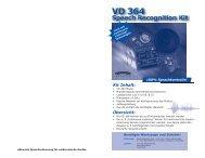VD 364 Schnellstart Anleitung - Das Labor