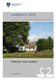 H102 Nederste Torp Landsby - Fredensborg Kommune