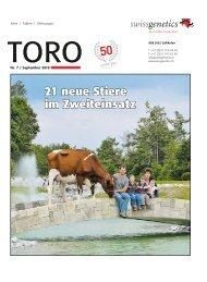 TORO 07/10 als PDF - Swissgenetics