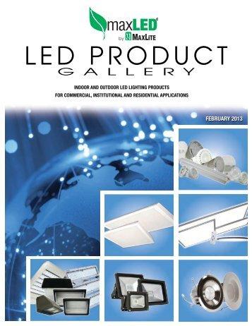 LED PRODUCT - MaxLite