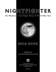 NIGHTFIGHTER - Airbattle, Air Combat Wargames