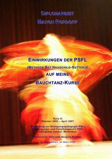 DIPLOMARBEIT MANON RORDORF ... - Heiligberg Institut