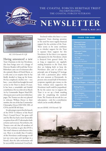 Newsletter - The Coastal Forces Heritage Trust