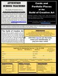 The Guild of Creative Art Monthly Online Bulletin - Page 6