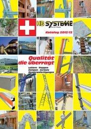 Leitern 2012 - Weber+Widmer AG