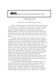 A Military Life - Gilbertgia.com