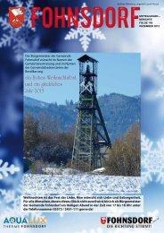 Zur Ausgabe Dezember 2012 - Gemeinde Fohnsdorf