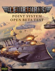 Leviathans: Point System Open Beta Test - Monsters in the Sky