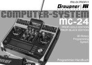 Handbuch mc-24 PROFI/1 - Graupner