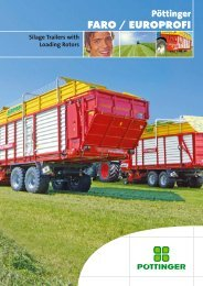 FARO / EUROPROFI silage trailers - Alois Pöttinger Maschinenfabrik ...