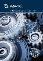 Motoren und Getriebe vom Profi - Blecher Motoren GmbH