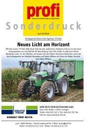 Agrotron TTV 630 profi-Test - Deutz fahr