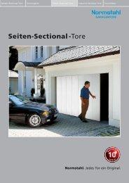 Normstahl-Seiten-Sectional-Tore - schaller+brunner GmbH in ...