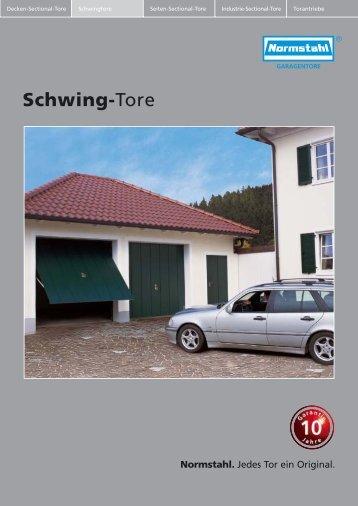 Schwing-Tore - Pohl Montagebetrieb