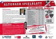ALTONAER SPIELBLATT - Altona 93