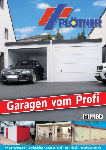 Garagen vom Profi