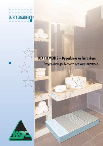 Byggskivor av hårdskum - KGC Verktyg & Maskiner AB