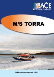 Faktaark MS Torra - ACE (AquaCulture Engineering)