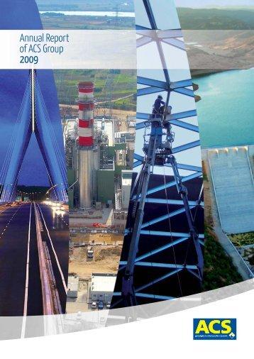 2009 Corporate Governance report - Grupo ACS