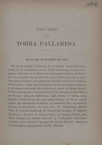 TORRA PALLARESA.