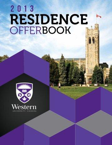 Residence Offer Book